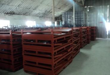Container pliabil pentru transportul si depozitarea pieselor grele