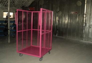 Carucior pentru transportul coletelor