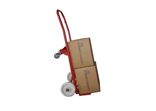 Carucior vertical pentru transport cutii