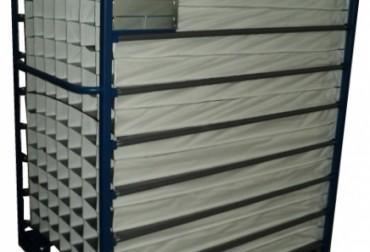 Carucior cu compartimentari textile