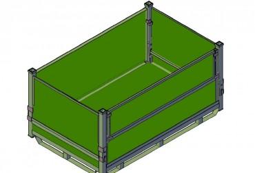 Container pliabil